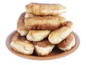 板的油煎馅饼 — 图库照片
