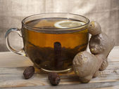 Té y jengibre — Foto de Stock