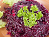 Parsley on salad — Stock Photo