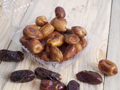 Dates in packing — Stock Photo