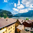 View of Hallstatt. Village in Austria. — Stock Photo