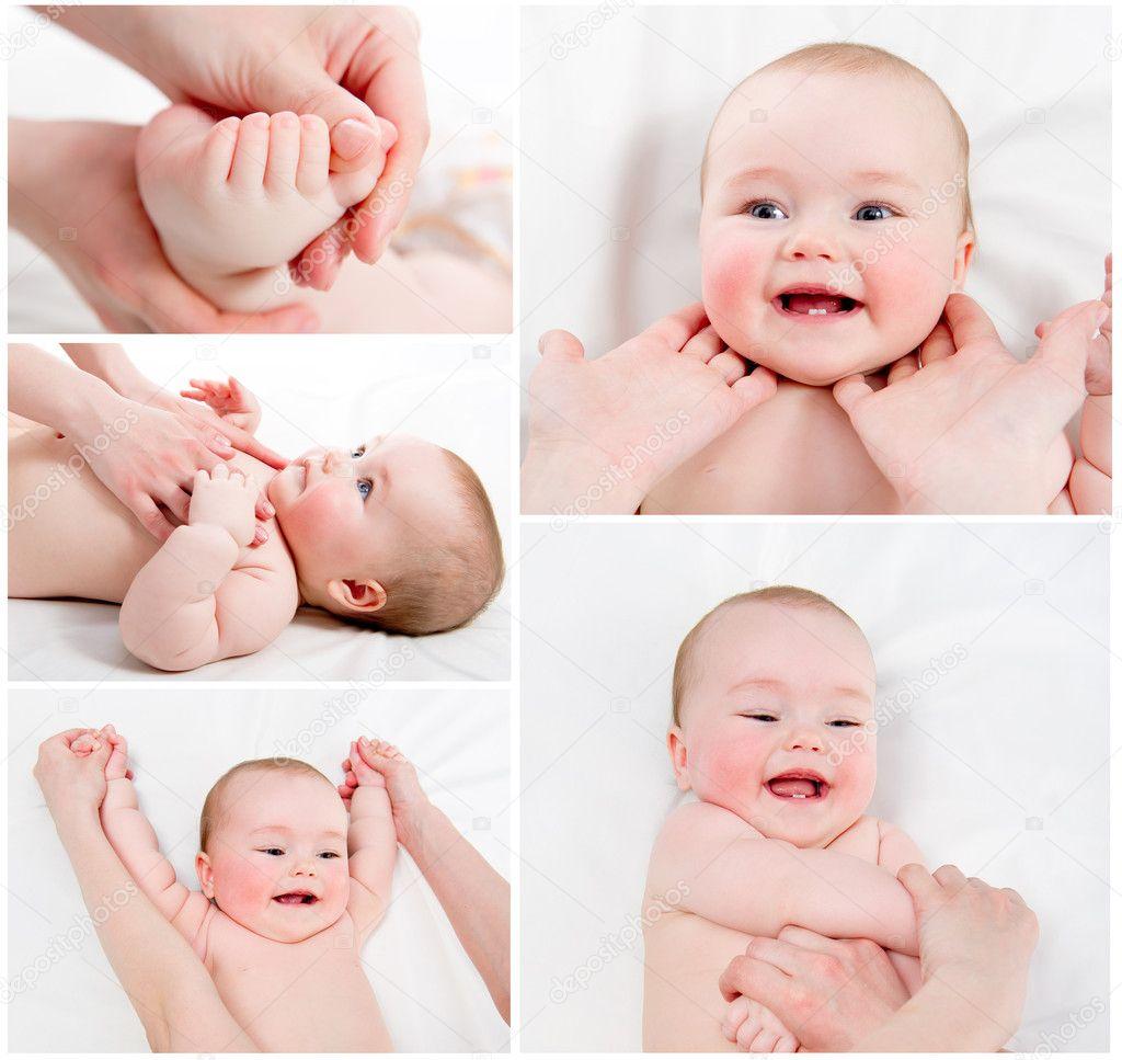 Как делать ребенку массаж Официальный сайт Huggies