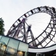 Stock Photo: Viennese giant ferris wheel, most popular tourist attraction, Au