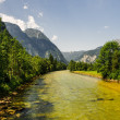 Beautiful mountains landscape of Austria — Stock Photo