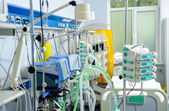 Reanimation ward with modern equipments — Stock Photo