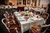 Luxury banquet — Stock Photo