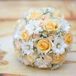 Stock Photo: Beautiful bridal bouquet