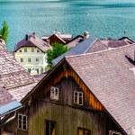 vue de hallstatt. village en Autriche — Photo #16350437