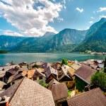 View of Hallstatt. Alpine village in Austria — Stock Photo