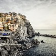 Royalty-Free Stock Photo: View of Manarola.