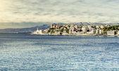 View of Genova. Largest Italian port city — Stock Photo