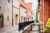 Ancient fortification wall. Old Riga,Latvia — Stock Photo
