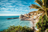 View of Bogliasco. — Stock Photo