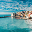Stock Photo: View of Bogliasco.