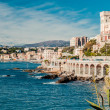 View of  Genoa, port city in northern Italy - Stock Photo