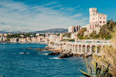View of Genoa, port city in northern Italy — Stock Photo