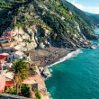 View of Vernazza seaside — Stock Photo