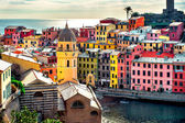 Vista de vernazza — Foto Stock