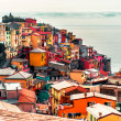 View of Manarola - Stock Photo
