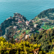 View of Riomaggiore. - Stock Photo