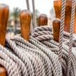 Ship rigging — Stock Photo