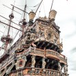 Stock Photo: Galeone Neptune ship, tourist attraction in Genoa