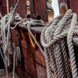 Ship rigging — Stock Photo