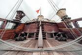 Detail galeone neptun loď — Stock fotografie