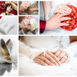 Wedding collage — Stock Photo #22076519
