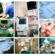 collage concettuale medica — Foto Stock #22791136