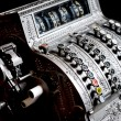 Stock Photo: Antique cash register