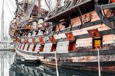 Galeone neptun loď — Stock fotografie