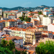 Panoramic aerial view of Cannes city, France - Photo