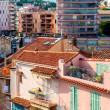Panoramic view of living houses of Cannes city, France — Stock Photo