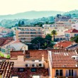 Stock Photo: Panoramic view of Cannes city, France