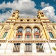 Facade of Monte-Carlo Casino and Opera House, Monaco - Stock Photo