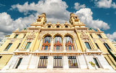 Facade of Monte-Carlo Casino and Opera House, Monaco — Stock Photo