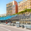 Stock Photo: Tribune. Preparation to Formul1 Monaco Grand Prix