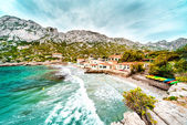 Beautiful landscape of Calanque de Sormiou. South France — Stock Photo
