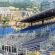 MONACO - MAY 02:  Three weeks until of opening the Grand Prix Automobile F1 — Stock Photo