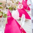 Wedding Table Decorations — Stock fotografie