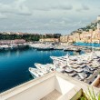View of Monaco harbor — Stock Photo
