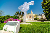 Ballerina monument of Monaco — Stock Photo