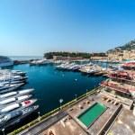 View of Monaco harbor — Stock Photo