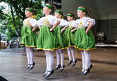 Latvian National Song and Dance Festival, Latvia — Stock Photo