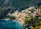 Amazing Amalfi coast. Positano, Italy — Stock Photo