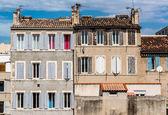 Typowe domy, marsylia, francja — Zdjęcie stockowe