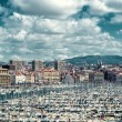 Old port of Marseille — Stock Photo