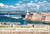 View of Fort Saint Nicholas in Marseille, France — Stock Photo