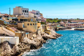 View of Marseille coast, France — Stock Photo